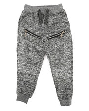 Bottoms - Fleece Zipper Jogger (2T-4T)-2269095