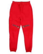 Sizes 8-20 - Big Kids - Fleece Zipper Joggers (8-20)-2268823