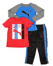 Puma - 3 Piece Tee & Track Pant Set (4-7)-2268055