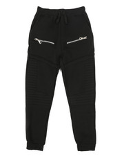 Sizes 8-20 - Big Kids - Fleece Zipper Joggers (8-20)-2269073