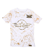 Sizes 8-20 - Big Kids - 3D Embossed Military Tee (8-20)-2266180
