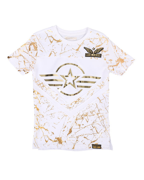 SWITCH - 3D Embossed Military Tee (8-20)