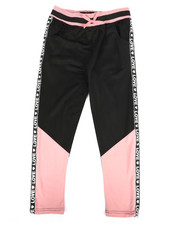 Sizes 7-20 - Big Kids - Color Block Tricot Pants (7-16)-2269659