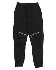 Sizes 8-20 - Big Kids - Fleece Zipper Joggers (8-20)-2268818