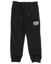 Bottoms - Printed Block Sweatpants (4-7)-2269788