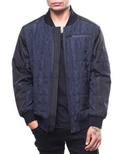 Buyers Picks - Hive Quilted Colorblock Nylon Bomber-2270593