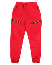 Sizes 8-20 - Big Kids - Fleece Zipper Joggers (8-20)-2270344