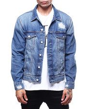 Calvin Klein - DESTRUCTED TRUCKER JACKET-2270541