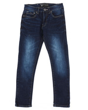 Sizes 8-20 - Big Kids - Flex Basic Denim Jeans (8-20)-2269894