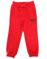 Boys - Printed Block Sweatpants (4-7)-2269822