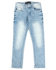 Sizes 8-20 - Big Kids - Flex Basic Denim Jeans (8-20)-2269901