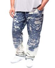 Men - Rip & Repair Moto Paint Slipt Jean (B&T)-2270604