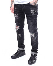 Crysp - ATLANTIC BLACK STONE Jean-2270900