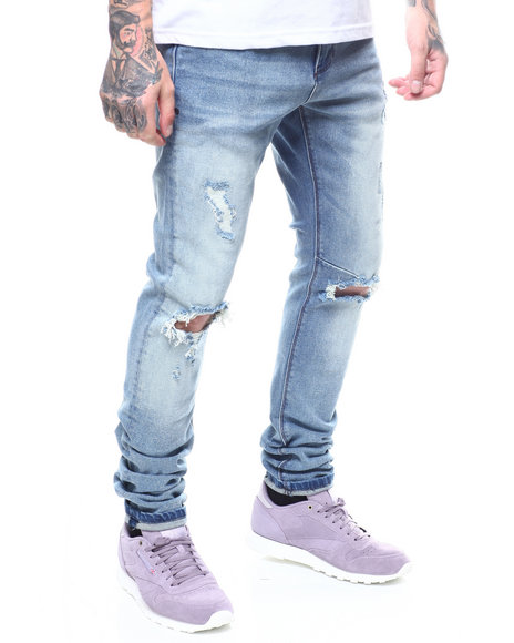 Crysp - Nash blown out Knee Jean