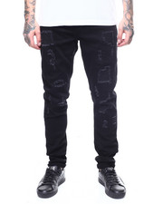 Crysp - ATLANTIC Jet BLACK Jean-2270965