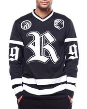 Rocawear - RUSTY KNOT V-NECK LS JERSEY-2272103