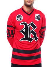 Shirts - RUSTY KNOT V-NECK LS JERSEY-2272085