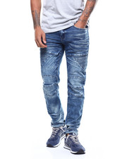 Jordan Craig - Aaron Articulated knee jean w panel detail-2272063