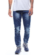 SMOKE RISE - SLIM EVERYDAY BIKER JEAN-2270550
