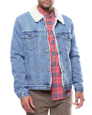 Denim Jackets - DENIM SHERPA JACKET-2271864