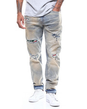Jordan Craig - Aaron Distressed Jean w Contrast Patch-2272127