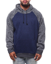 Brooklyn Cloth - Color Block Cozy Knit Hoodie (B&T)-2270057