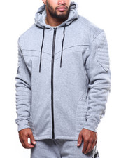 Men - Fleece Full Zip Hoodie (B&T)-2272238