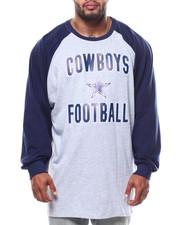 NBA, MLB, NFL Gear - Cowboys L/S Raglan Tee (B&T)-2271285