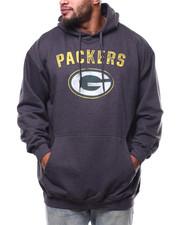 NBA, MLB, NFL Gear - Packers Pullover Fleece Hood (B&T)-2271324