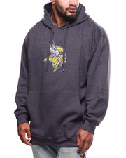 NBA, MLB, NFL Gear - Vikings Pullover Fleece Hood (B&T)-2271329