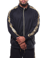 Track Jackets - Foil Printed Cut & Sew Track Jacket (B&T)-2272257
