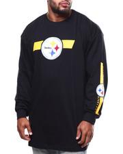 T-Shirts - Steelers L/S 2 Hit Tee (B&T)-2271295