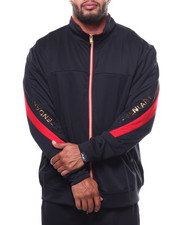 Track Jackets - Track Jacket/Contrast Zipper Trim (B&T)-2272190