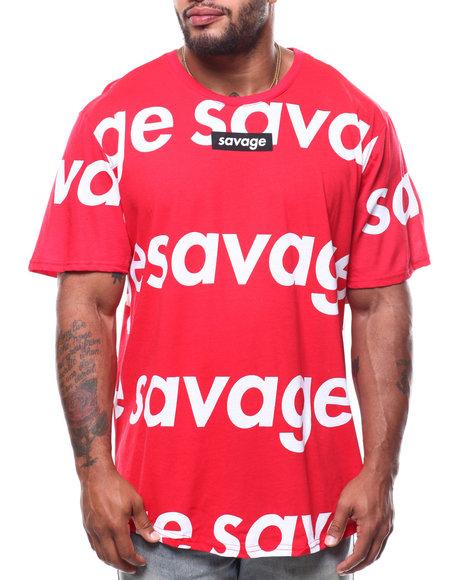 Brooklyn Cloth - S/S Repeat Savage Scoop Tee (B&T)