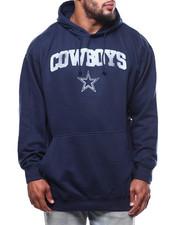 NBA, MLB, NFL Gear - Cowboys Pullover Hood w/ Screen (B&T)-2271313