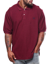 Polos - S/S Knit Cotton Knit Polo (B&T)-2271206