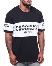 Brooklyn Cloth - S/S Retro Brooklyn Block Tee (B&T)-2269930