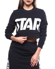 Women - Cropped Crewneck L/S Top-2270292