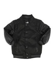 Outerwear - Ballastic Nylon Varsity Jacket (4-7)-2270727