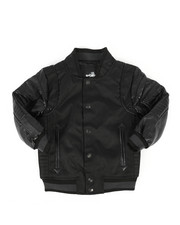 Boys - Ballastic Nylon Varsity Jacket (4-7)-2270727