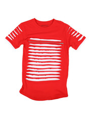 Boys - Zip Trim Razor Slashed Tee (8-20)-2269706