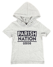 Tops - Hooded Jersey Tee (2T-4T)-2269764