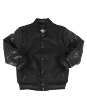 Sizes 8-20 - Big Kids - Ballistic Nylon Varsity Jacket (8-20)-2270732