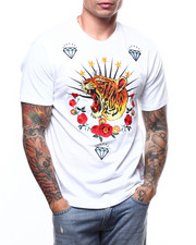 Reason - EMBROIDERED TIGER WREATH TEE-2272533