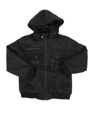 Outerwear - Ballastic Nylon Bomber Jacket (8-20)-2270750