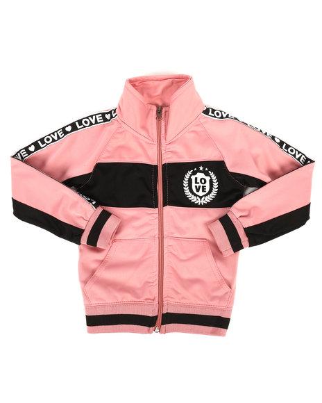 La Galleria - Color Block Tricot Jacket (2T-4T)