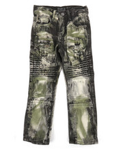 Bottoms - Moto Rip And Repair Jeans (4-7)-2270390