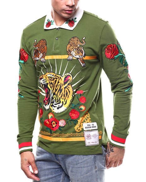 Buy TIGER RUGBY SHIRT Men's Shirts From Reason. Find