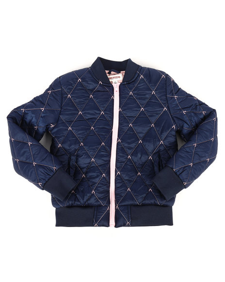 True Religion - Quilted Bomber Jacket (7-16)