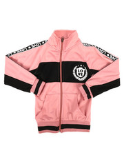 Track Jackets - Color Block Tricot Jacket (4-6X)-2269694